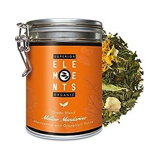 alveus Mellow Mandarine Superior Organics Elements: Loose tea blend with mandarins - Grapefruit taste, 100g tin