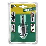 Wolfcraft 2625000 Schnell-Bohrfutter schwarz