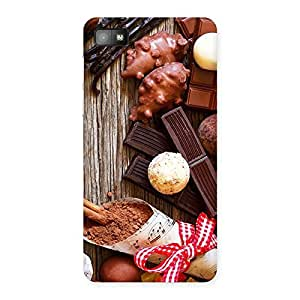 Delighted Chocolate Candies Multicolor Back Case Cover for Blackberry Z10