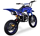 Pit Bike Cross Mini Moto NUOVA modello CRB 125cc 4 tempi 4 marce Pocket Dirt Bike:...