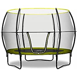 Rebo 10FT Base Jump Trampoline With Halo II Enclosure
