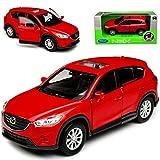 alles-meine.de GmbH Mazda CX-5 KE SUV Rot 1. Generation 2011-2017 ca 1/43 1/36-1/46 Welly Modell Auto