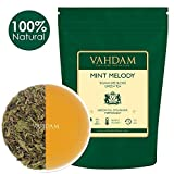 VAHDAM, hojas sueltas de té verde menta (100 tazas) | ANTIOXIDANTES RICOS | Té...