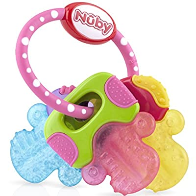 Nuby ICY Bite Keys Teether : everything 5 pounds (or less!)