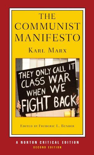 The Communist Manifesto (Norton Critical Editions)