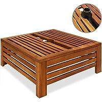 Bases y soportes para sombrillas para patio | Amazon.es