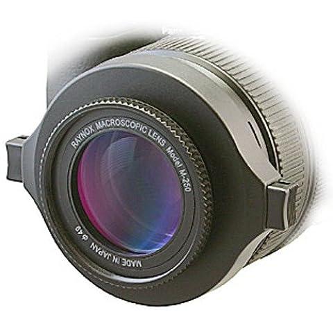 Raynox DCR-250 SLR Noir lentille et filtre d'appareil photo - lentilles et filtres d'appareil photo (SLR, 3/2, 4,3 cm, Bleu, Noir, 1,8 cm)