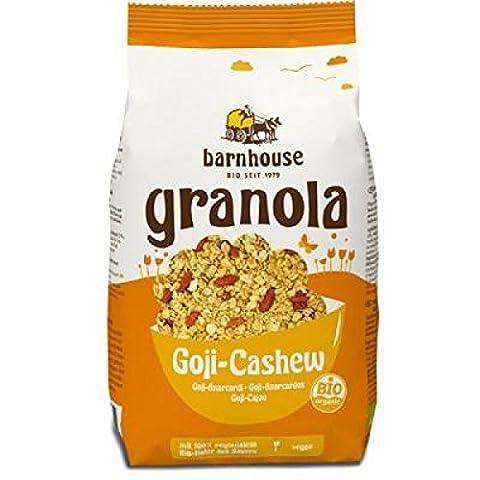 Barnhouse Bio Granola Müsli Goji Cashew, 375 g