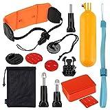 DuDuDu pour Les Accessoires de Surf GoPro Go Pro Accessoires 14 en 1 Combo Kit pour GoPro Hero de Session HERO5 5 4 3 + caméra de Sport SJ4000