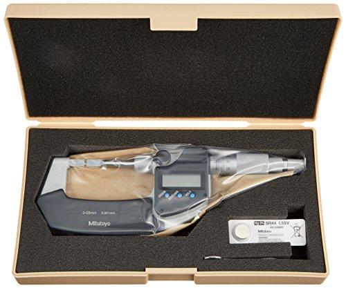 Mitutoyo Serie (Mitutoyo 422–230–30Serie 422Digimatic Klinge), Typ A, 025mm Range, 48566)