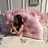 LJHA Halten Kissen Home Kissen Pure Color Kissen Bett Kissen Prinzessin Kissen Multi-Stil Kissen (Farbe : B, größe : 1.2M)