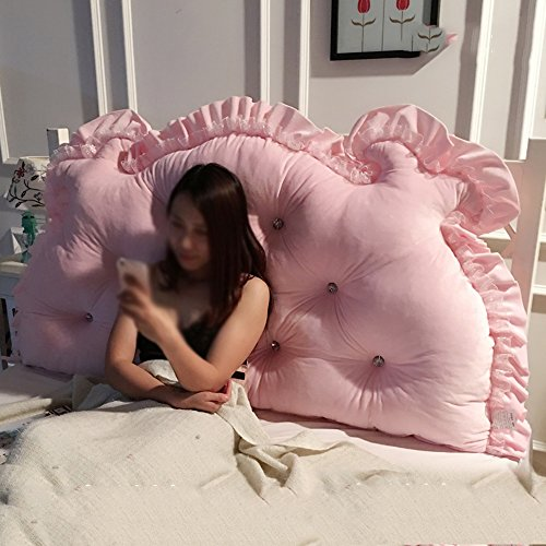 LJHA Halten Kissen Home Kissen Pure Color Kissen Bett Kissen Prinzessin Kissen Multi-Stil Kissen ( Farbe : B , größe : 1.8M )