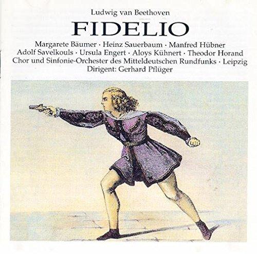 Beethoven : Fidelio 1950. Pflüger, Bäumer, Sauerbaum, Hübner, Horand.