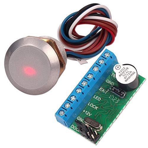 Access Control Board, ZOTER Mini-Panel mit DIY versteckt, wasserdicht, 125KHz RFID-Kartenleser für Sicherheitssystem-Türschloss - Tür Control Panel
