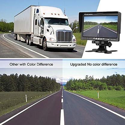Auto-Dritte-Dach-Top-Mount-Bremsleuchte-Kamera-Bremslicht-Rckfahrkamera-fr-Opel-MovanoVauxhall-MovanoRenault-MasterNissan-NV400-70-Zoll-DVD-Monitor-TFT-Bildschirm-LKW-KFZ-LCD-Display