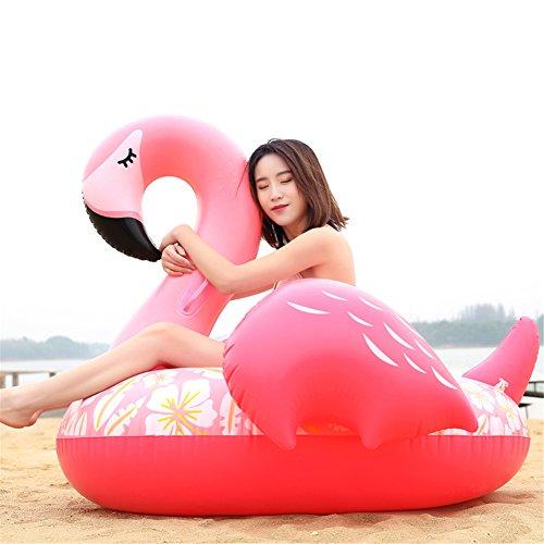 Riesige Aufblasbare Pool-Floss-Spielwaren Für Erwachsene Scherzt Swimmingpool Im Freien Oder Strand-Partei-Aufblasbarer Floss-Ruhesessel-Stuhl,Flamingos