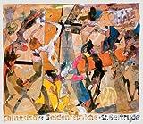 Horst Janssen Seidenteppich-Entwurf Poster Plakat Kunstdruck Bild