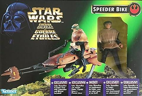 Star Wars - The Power of the Force 69651 – Speeder Bike with Luke Skywalker in Endor Gear