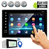 Pyle GPS Android Car Stereo WIFI Double Din -DVD Navigation Hands-free Bluetooth