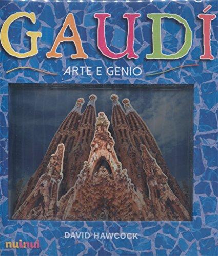 Gaudí Pop-Up Italiano: Arte e Genio por David Hawcock