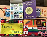 Best Scrapbook Kit - LitJoys Little Collector's Passport Travel Scrapbook and Stamps Review
