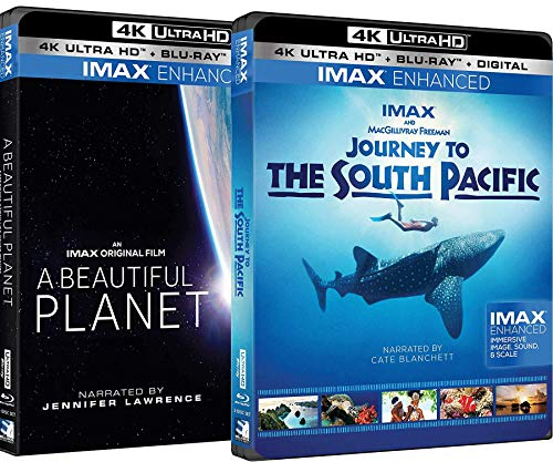 A Beautiful Planet 4K UHD + Journey to the South Pacific 4K UHD IMAX Bundle (South Film Pacific)