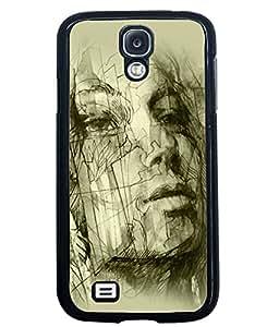 Printvisa 2D Printed Designer back case cover for Samsung Galaxy S4 SM - I9505 - D4584