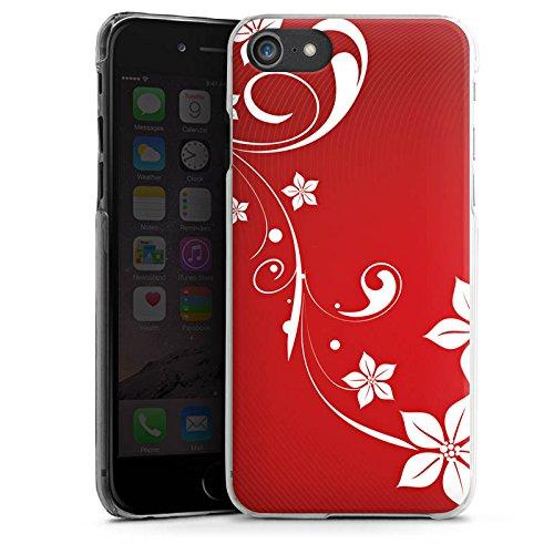 Apple iPhone X Silikon Hülle Case Schutzhülle Liebe Herz Muster Hard Case transparent