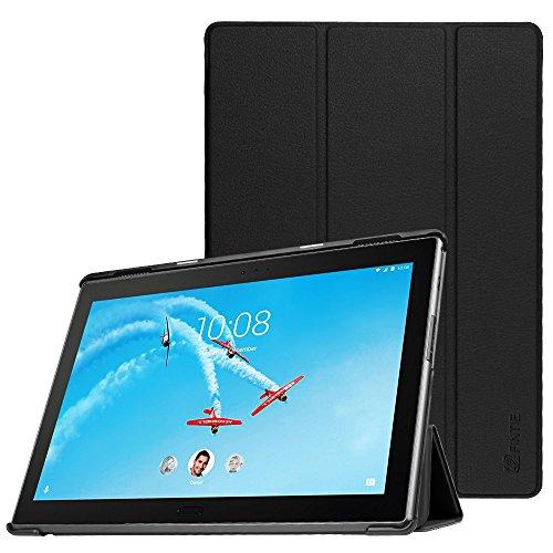 Fintie Lenovo Tab4 10 Plus Hülle - Ultradünne Superleicht Schutzhülle Tasche Etui Case mit Auto Schlaf/Wach Funktion für Lenovo Tab 4 10 Plus (10 Zoll) Tablet-PC (Not für Lenovo Tab4 10), Schwarz