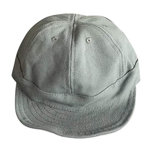 B-commerce Sommer Baseball Visier Cap Unisex Pferdeschwanz Unordentlich Brötchen Trucker Plain Papa Hut Baumwolle Einstellbare Cowboy Style Hip Pop Hats