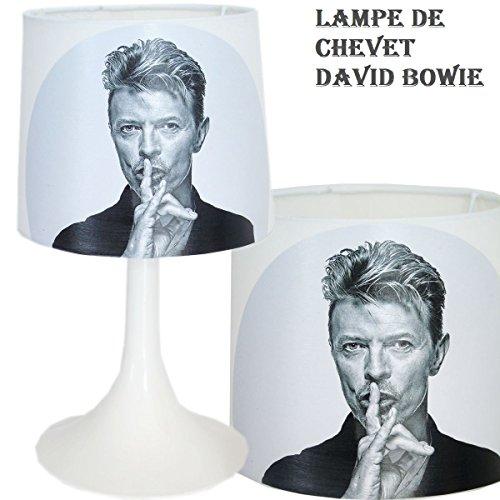 Nachttischlampe David Bowie, Schaffung von handwerkliche Typ Serviettentechnik