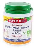 Super diet - Quatuor bio digestion gélules - 150 gélules - Facilite la digestion