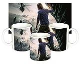 MasTazas Guerra Mundial Z World War Z Brad Pitt A Tazza Mug