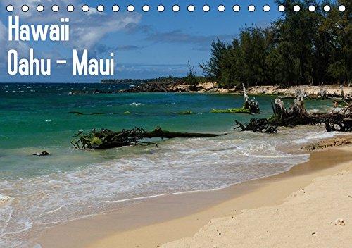 Hawaii - Oahu - Maui (Tischkalender 2019 DIN A5 quer): Die schönsten Bilder der Inseln Oahu und Maui (Monatskalender, 14 Seiten ) (CALVENDO Orte)