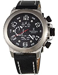 Timecode Reloj de cuarzo Man Everest 1953 Negro 48 mm