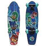 playwheels PJ Masken Kids 53,3cm Complete Skateboard–PJ Power