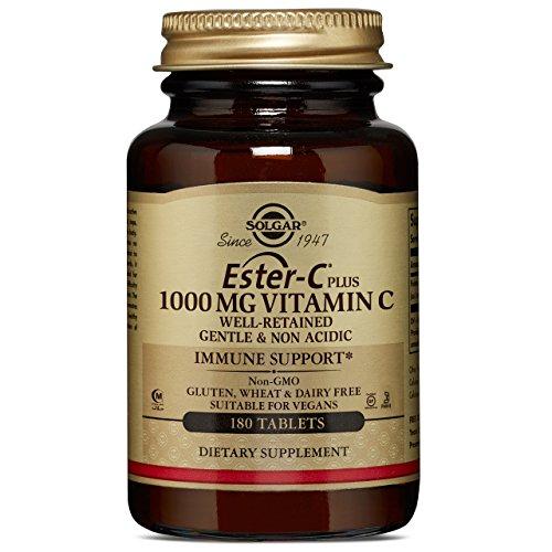 Solgar   Ester-C Plus   Vitamin C   1.000 mg   180 vegane Tabletten   glutenfrei