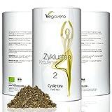 Vegavero Zyklustee 2, Hochlagetee, Bio-Qualität in Aromaschutzdose, vegan, 100g, 1 Stk.