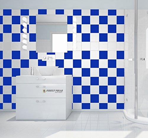 50 pezzi adesivi per piastrelle bagno e cucina decorazione ...