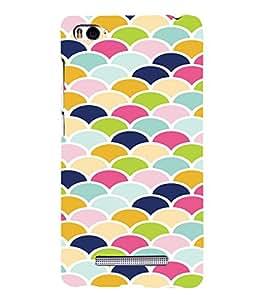PrintVisa Pastel Colorful Pattern 3D Hard Polycarbonate Designer Back Case Cover for Xiaomi Redmi Mi4i