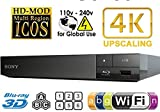 2015 SONY BDP-S6500 4k Upscaling - 2D/3D - Wi-Fi - Multizone All Region Code Free DVD Blu Ray Player - 2M HDMI Lead Included - 100~240V 50/60Hz Worldwide Voltage AUTO - Comes with the UK Power Supply provided by MultiSystem-Electronics - Sony - amazon.co.uk