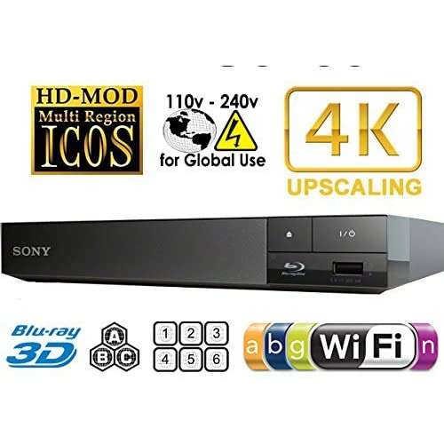 51nt3JBXaJL. SS500  - 2015 SONY BDP-S6500 4k Upscaling - 2D/3D - Wi-Fi - Multizone All Region Code Free DVD Blu Ray Player - 2M HDMI Lead Included - 100~240V 50/60Hz Worldwide Voltage AUTO - Comes with the UK Power Supply provided by MultiSystem-Electronics