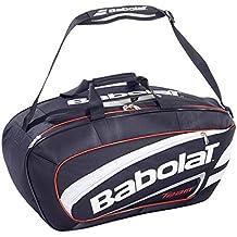 Babolat Team Line Bolsa, Negro/Rojo