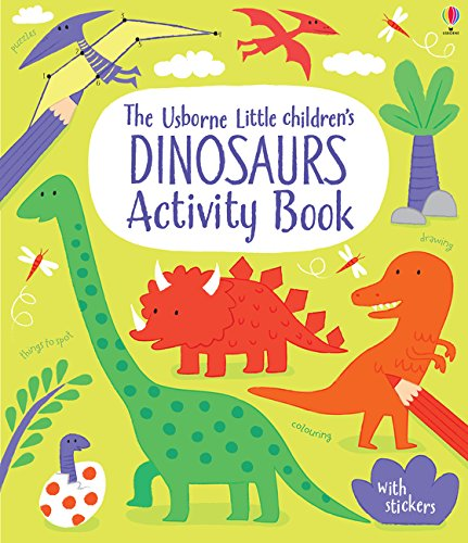 Little Children's Dinosaurs Activity Book por Rebecca Gilpin