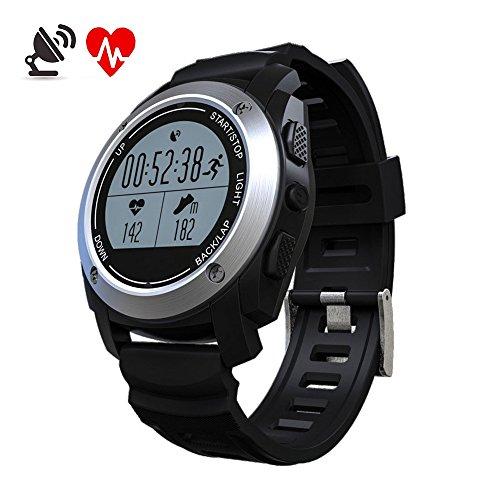 GPS Montre de Sport MOREFINE Bluetooth Fitness...
