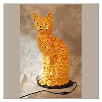 Lampe Salon Misti Jaune Lampe Chat