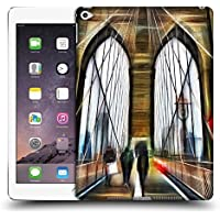 Ufficiale Haroulita Brooklyn Bridge Luoghi 2 Cover Retro Rigida per Apple iPad Air 2