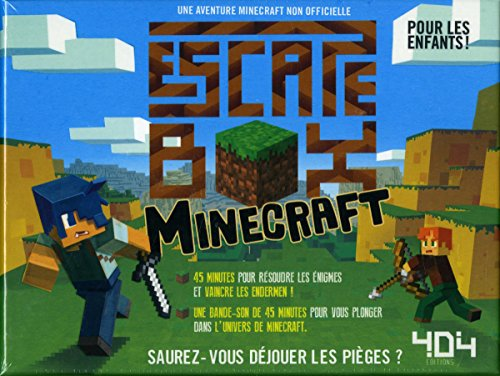Escape box Minecraft par Stéphane ANQUETIL
