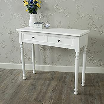 Melody Maison Camille Range - White Console Table