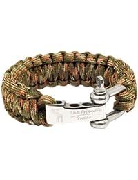 The Friendly Swede Bracelet de Survie en Paracorde avec Fermeture en Acier  Inoxydable - Taille Ajustable 6cbb3aed4e07